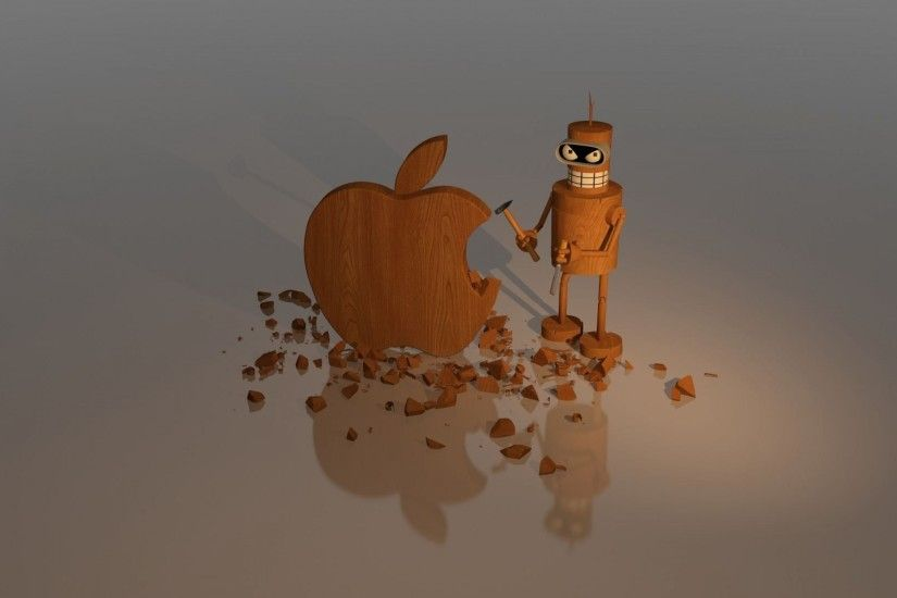 wallpaper.wiki-Funny-3D-Apple-Image-PIC-WPD0014004
