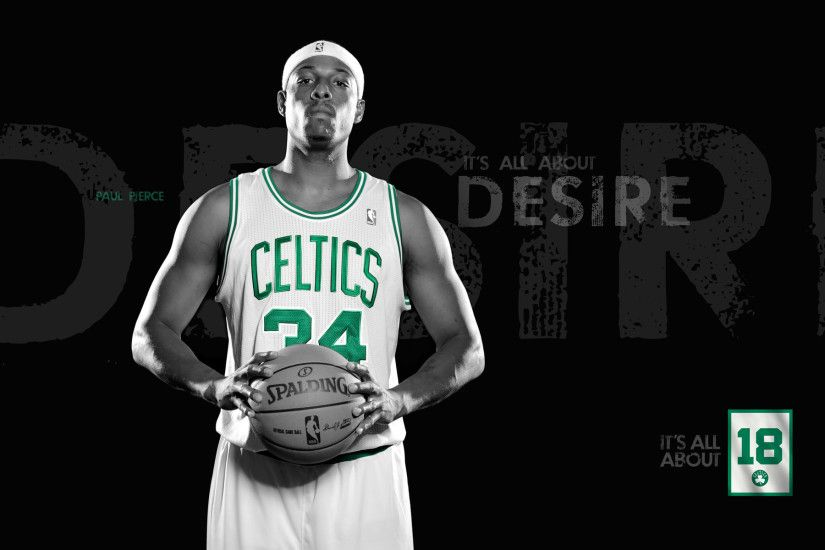 Paul Pierce Wallpaper – A Typical Symbol of Boston Celtics, Joining His New  Team!