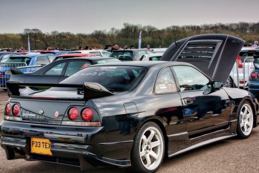 cars nissan nissan skyline r33 gtr 1920x1280 wallpaper Art HD Wallpaper