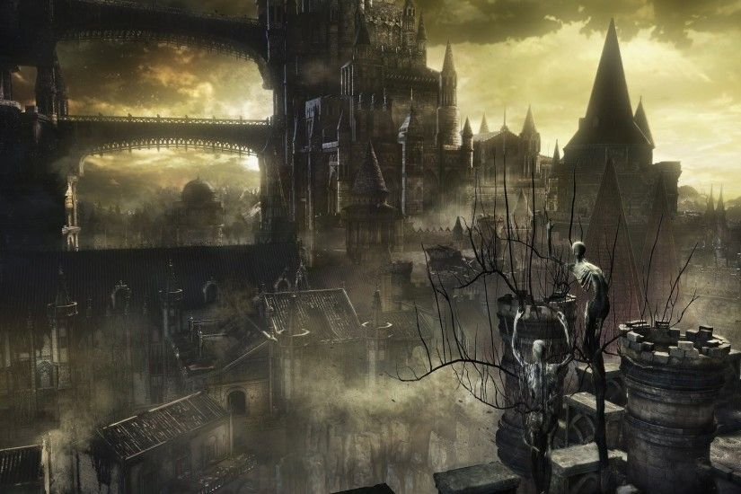 Dark Souls III, Dark Souls, Video Games, Castle, Fantasy Art, Concept