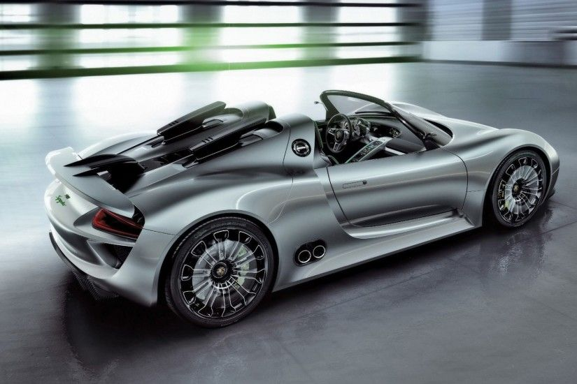 Porsche 918 Spyder Concept 2010 Rear 4k HD Wallpaper