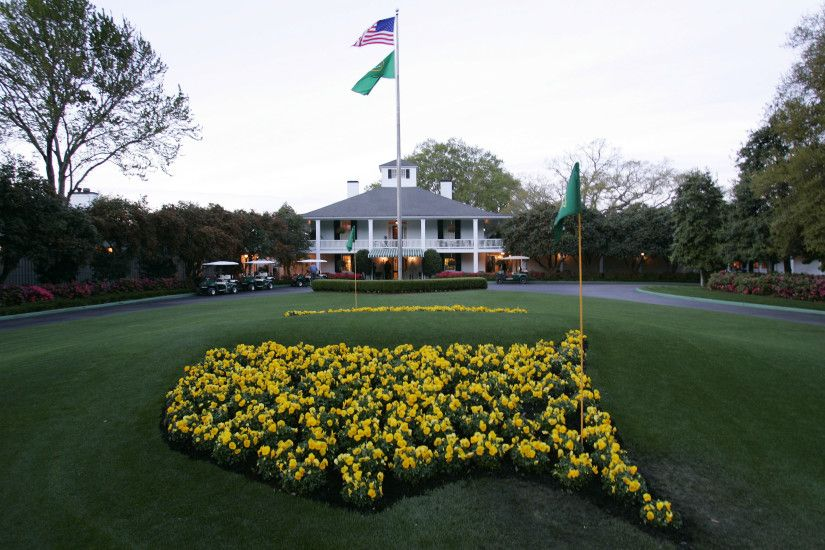 Augusta National Clubhouse The Masters