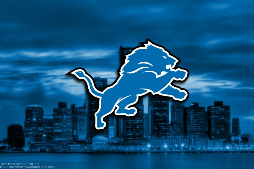 ... Detroit Lions 2017 football logo wallpaper pc desktop computer