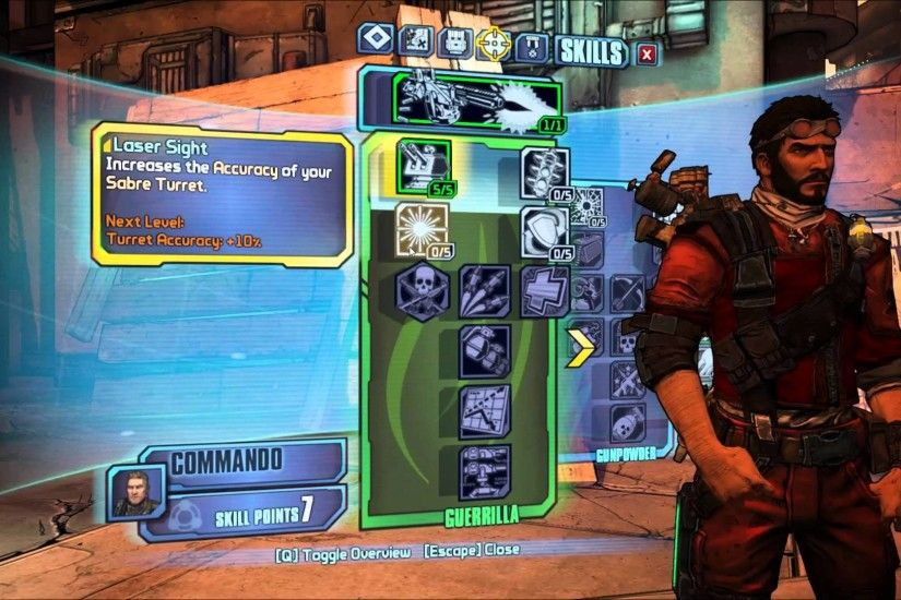 Borderlands 2: Defensive Turret - Survival Axton