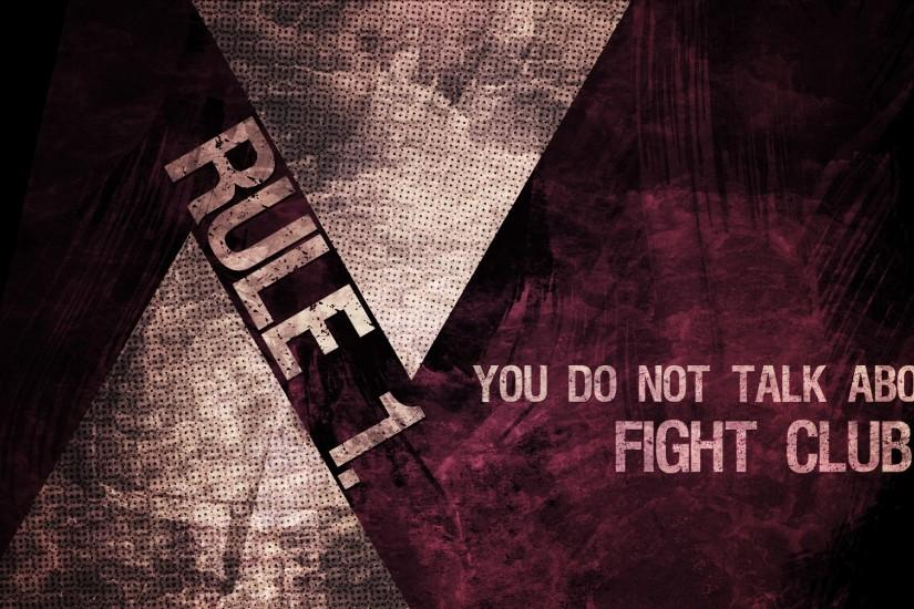Preview wallpaper fight club, rule, you do not talk about fight club  1920x1080
