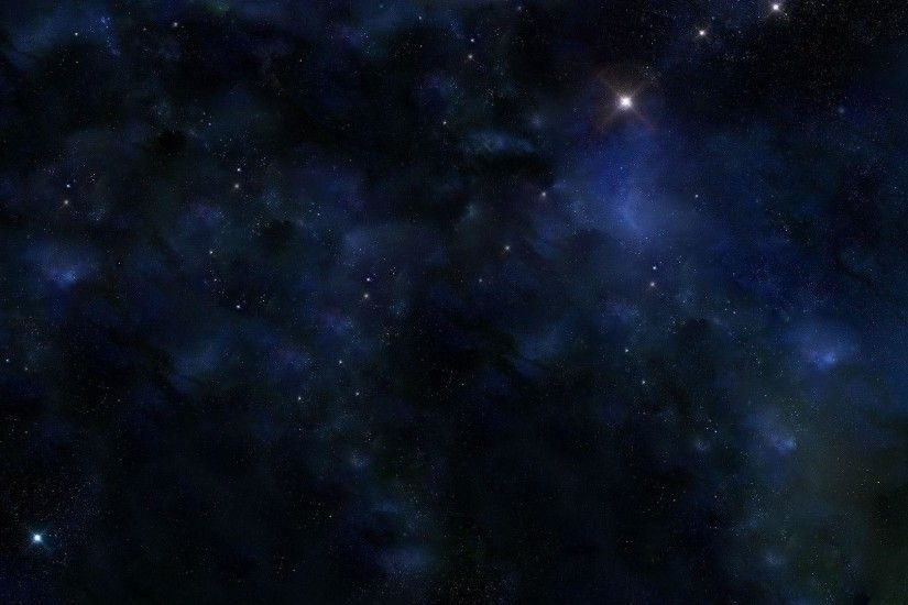 Wallpapers For > Dark Blue Space Background