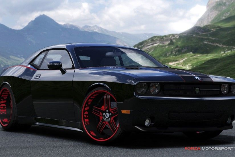 Black Dodge Challenger Srt8 Wallpaper Is A Hi Res Wallpaper