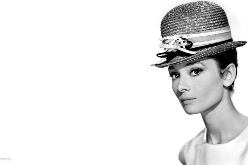 audrey hepburn high hat wallpaper