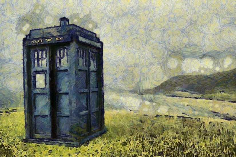 TARDIS, Doctor Who, The Doctor, Artwork Wallpapers HD / Desktop and Mobile  Backgrounds