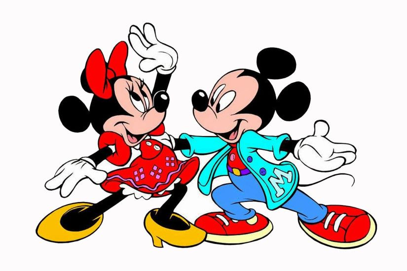 Mickey Minnie Mouse Dancing Cartoons Hd Wallpapers For Mobile