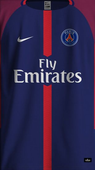 PSG HOME SHIRT FRONT 1718