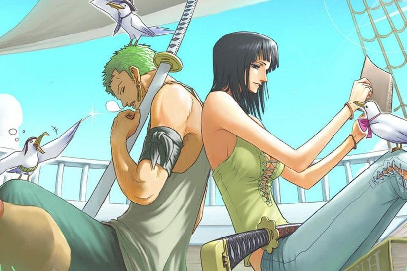 Nico robin Seagulls Roronoa zoro One piece HD Wallpapers, Desktop .