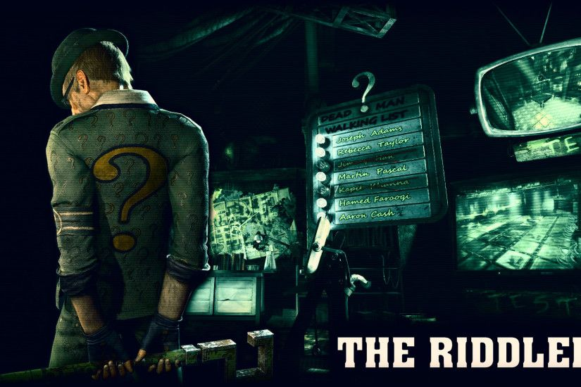 1920x1080 ... riddler wallpaper wallpapersafari; console games wallpapers  page 187 .