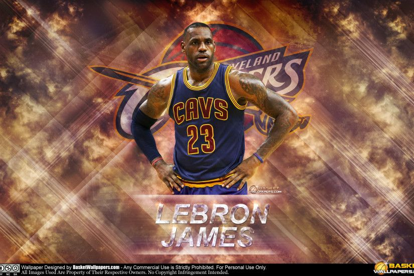 LeBron James The King 2016 2880x1800 Wallpaper
