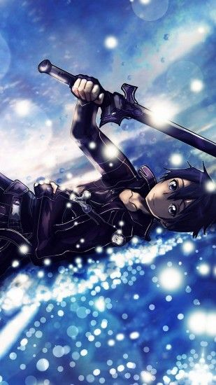 ... kirito - sword art online iPhone 6s / Plus wallpapers HD .