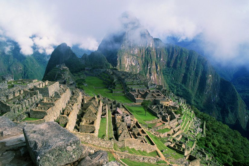 Historic Machu Picchu Wallpaper