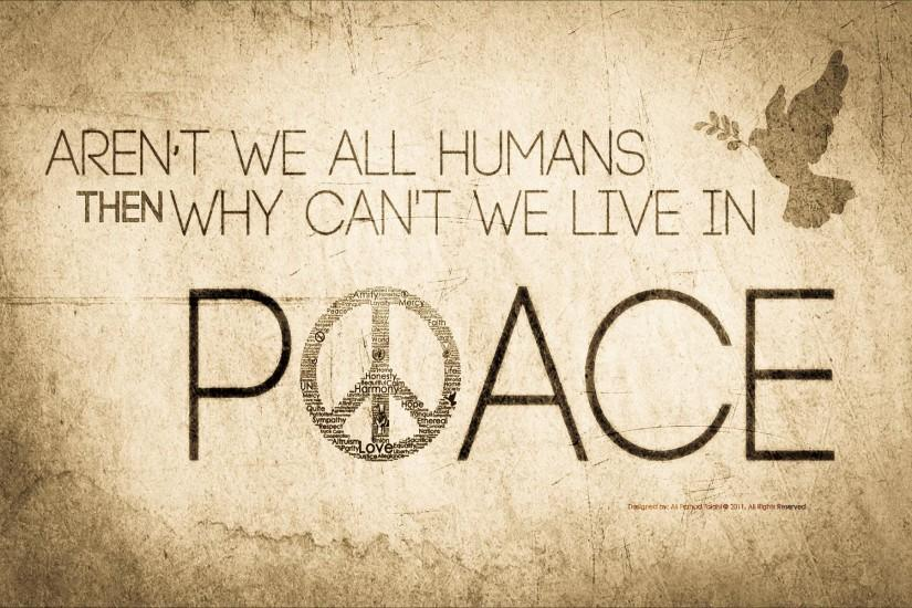 Free Wallpapers - Peace wallpaper