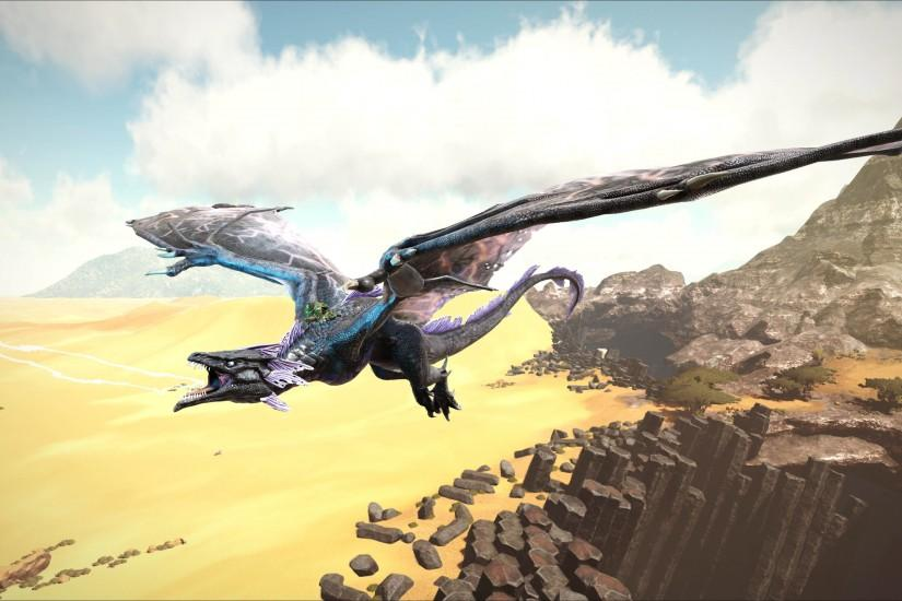 Wyvern - ARK: Scorched Earth 3840x2160 wallpaper