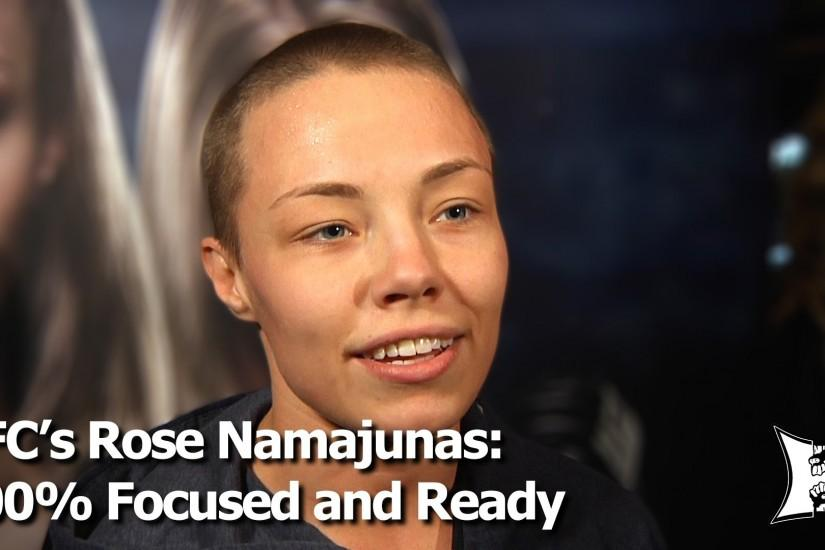 UFC Strawweight Rose Namajunas Has Never Been More Focused And Read.