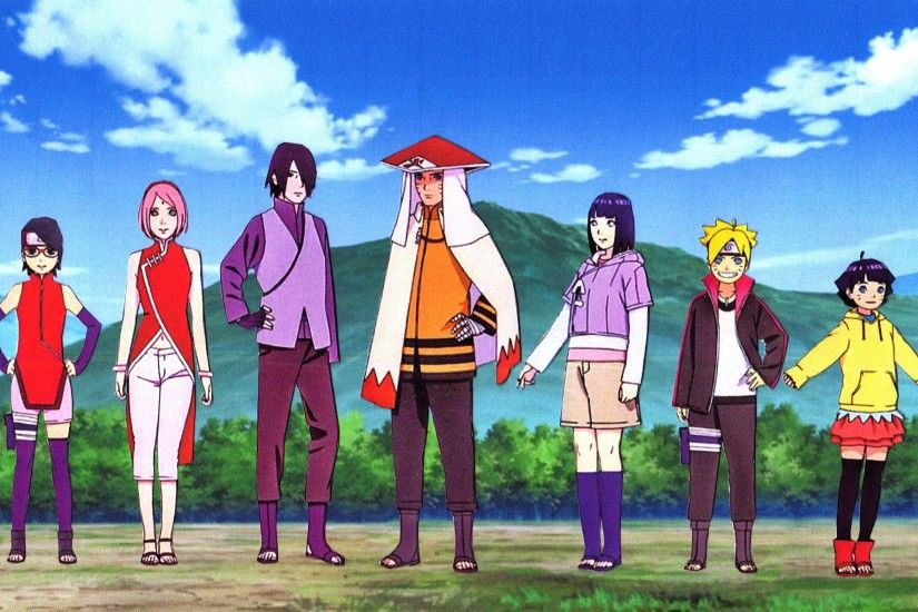 ... NARUHINA and SASUSAKU Family Wallpaper 5 by weissdrum