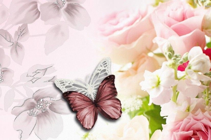 0 Butterfly HD Wallpapers Rocks Butterfly And Flower Wallpapers
