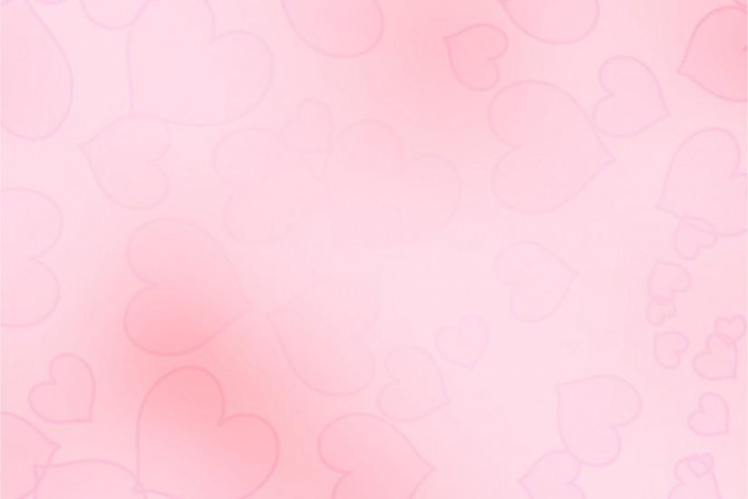 Faded Pink Heart Background