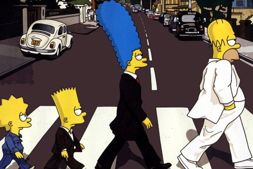 Funny Cartoon Simpsons Pictures HD Wallpaper