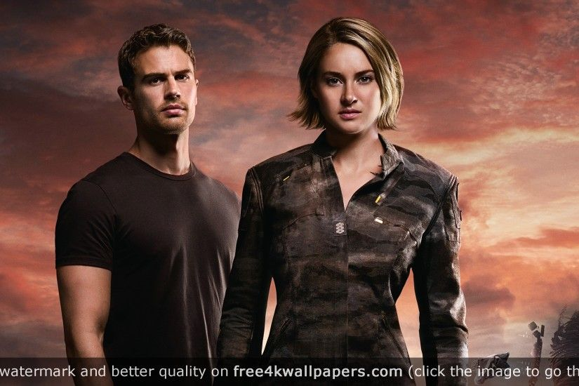 Four Tris Divergent Allegiant HD wallpaper