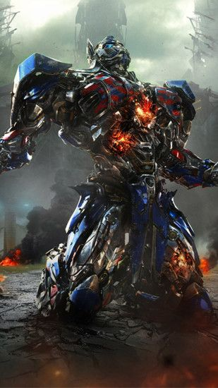 Transformers Optimus Prime Movie iPhone 6 Plus HD Wallpaper ...