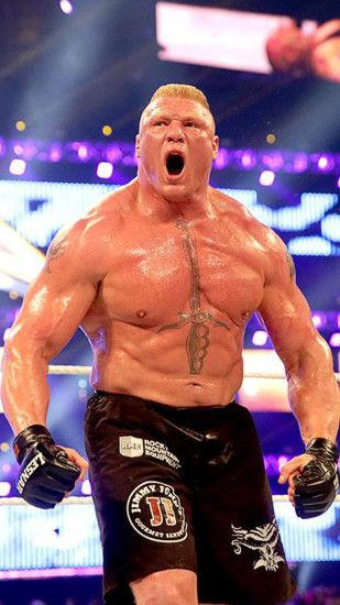 Brock Lesnar WWE HD Mobile Wallpaper Download