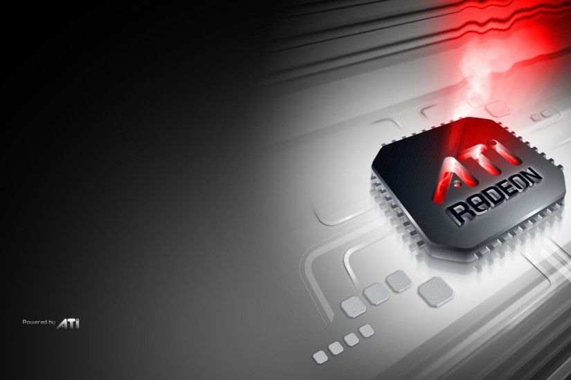 Technology - ATI Computer Hardware Logo ATI Radeon Wallpaper