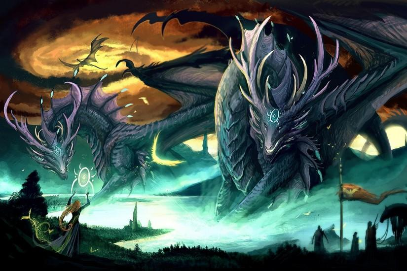 4096 Fantasy Dragon Wallpapers Page 6