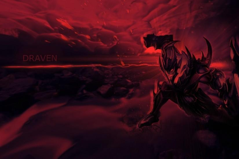 League Of Legends Soul Reaver Red Draven Wallpaper