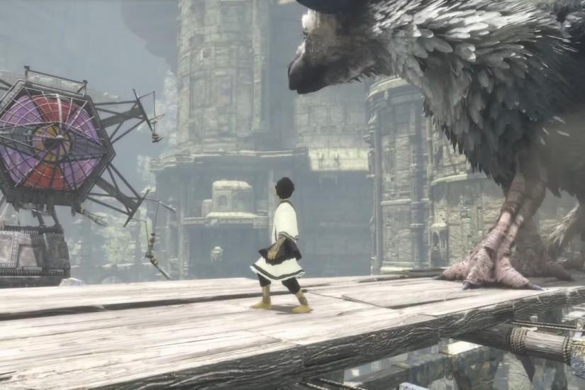 ... Ground Punch The Last Guardian Review 1