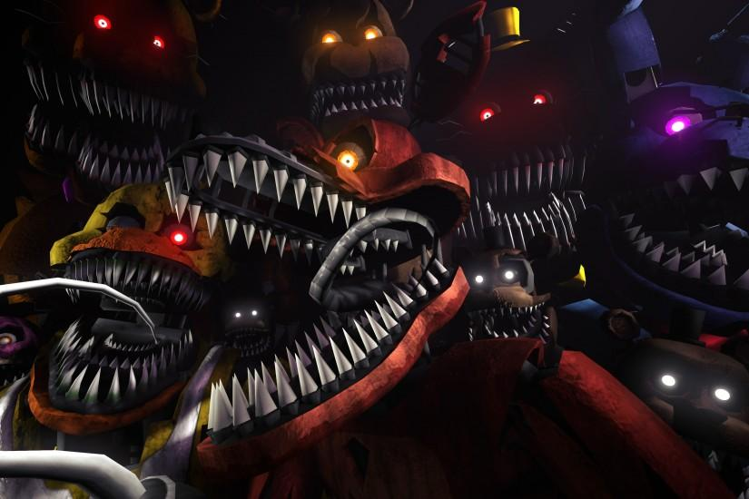 free five nights at freddys wallpaper 3840x2160