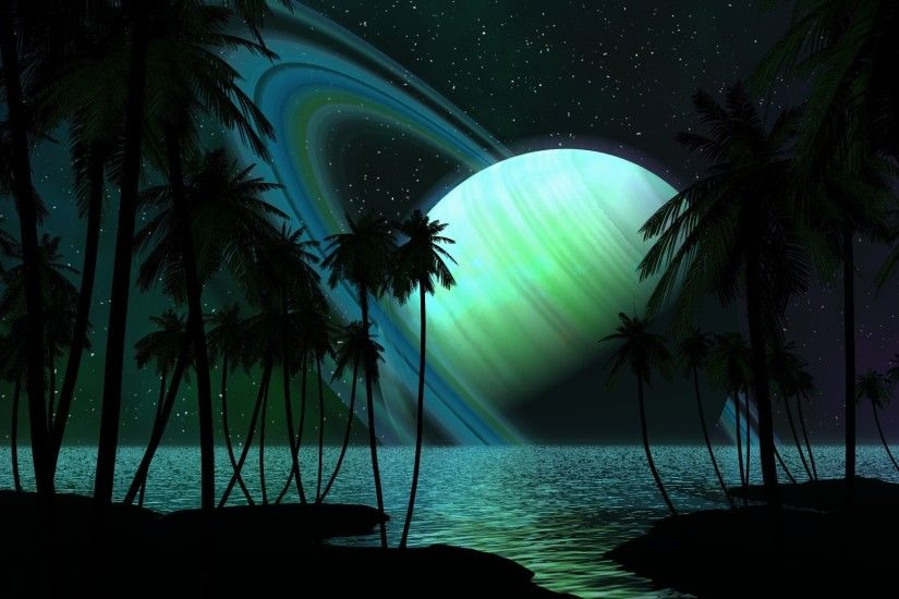 Get the latest saturn, palm trees, water news, pictures and videos and  learn all about saturn, palm trees, water from wallpapers4u.org, your  wallpaper news ...