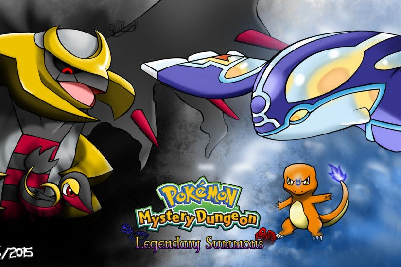 Pokemon Mystery Dungeon: Legendary Summons Fanart by Masked-Gamer .