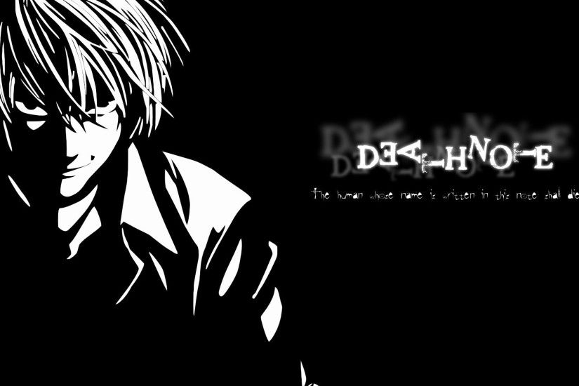Death Note Wallpapers L Wallpapers) – HD Wallpapers