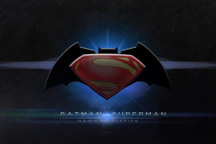 Movie - Batman v Superman: Dawn of Justice Logo Symbol Batman Superman  Movie Wallpaper