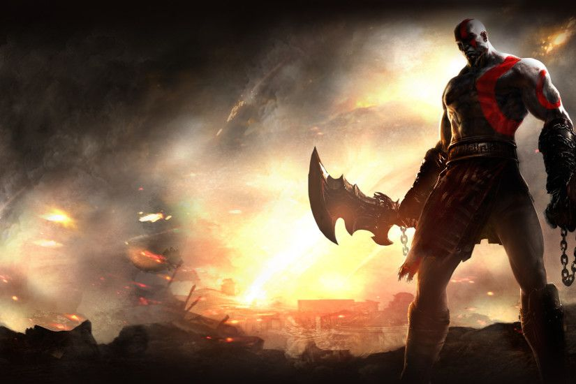 52 God Of War HD Wallpapers | Backgrounds - Wallpaper Abyss