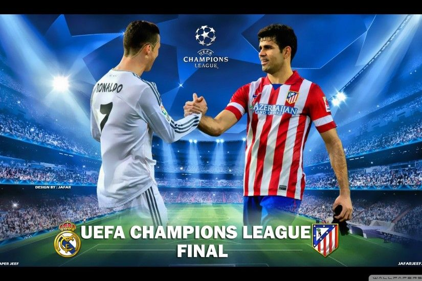 UEFA CHAMPIONS LEAGUE FINAL 2014 HD desktop wallpaper : High