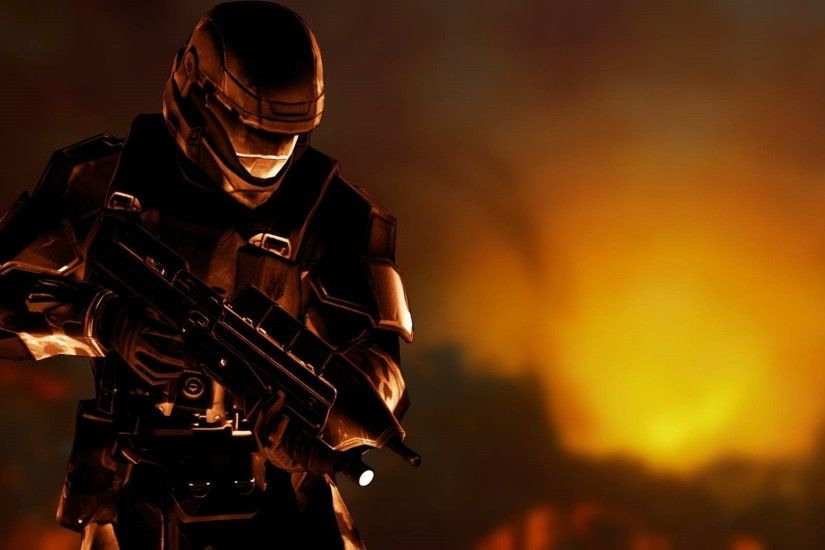 High Resolution Halo 3 Odst Wallpaper HD 11 Game Full Size .