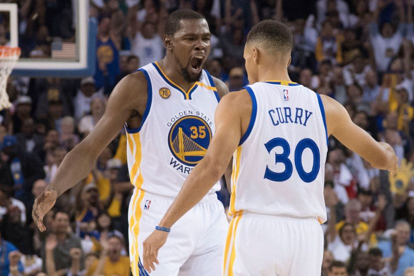 KEVIN DURANT & STEPHEN CURRY RESPOND TO KEVIN DURANT JOINING THE .