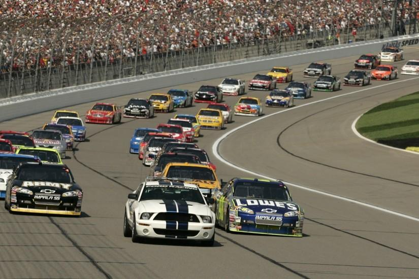 Preview wallpaper grandstand, track, america, cars, nascar, background,  people 1920x1080