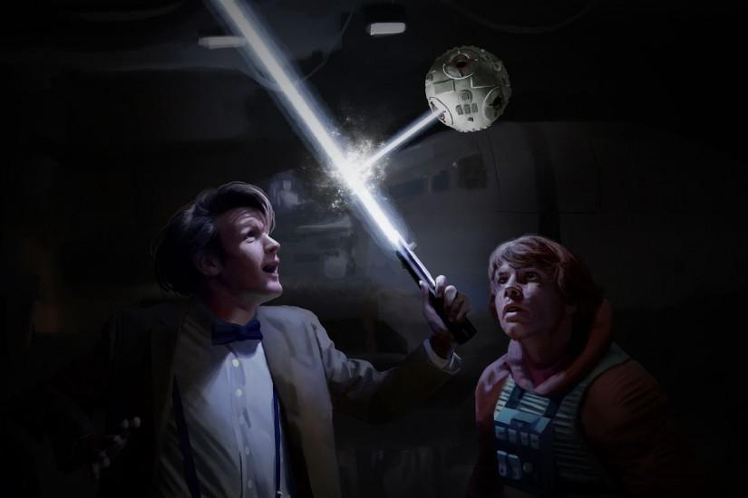 Doctor Who Star Wars Crossover Wallpaper. TAGS: Luke Skywalker ...