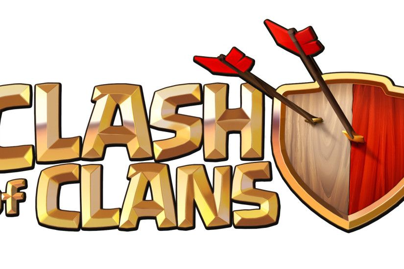 Clash of Clans logo 1920x1080 wallpaper