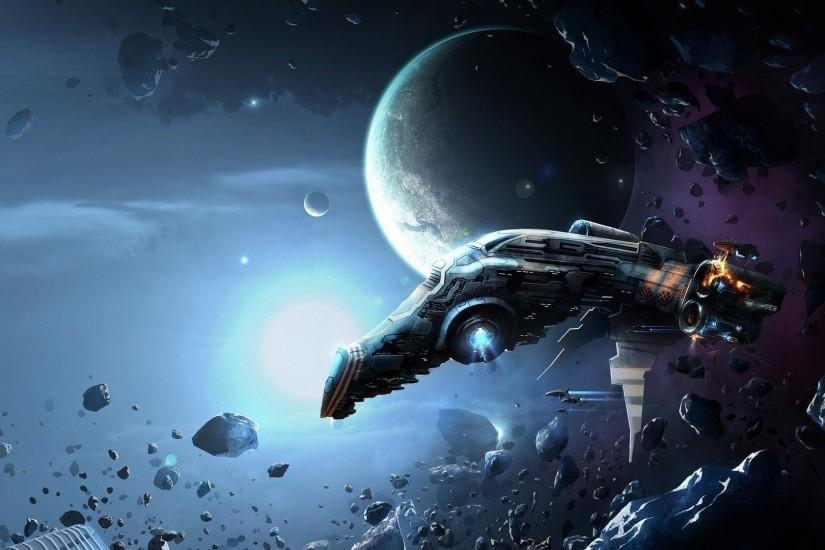 Fantasy Spaceship Wallpaper Wallpapers 1920x1080PX ~ Wallpaper Hd ..