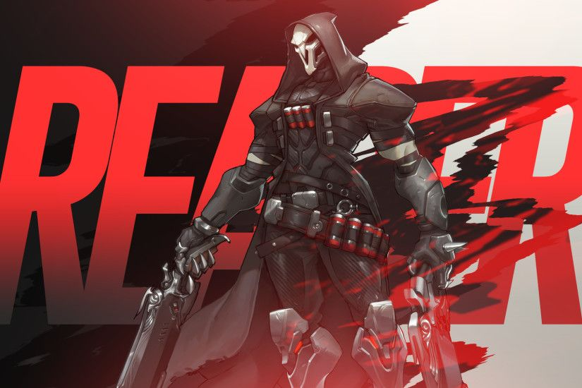 Overwatch Reaper wallpaper by mikoyanx.
