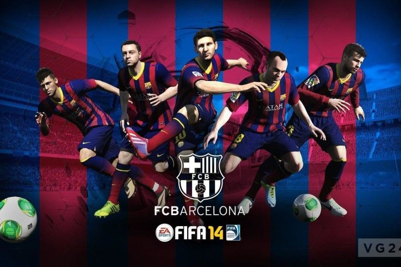 FC Barcelona FIFA football games wallpaper backgrounds - Football .