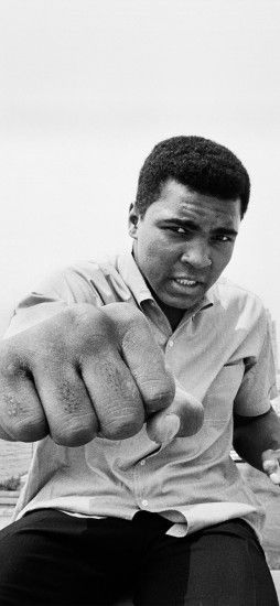 Muhammad – Ali Boxing legend iPhone 8 Wallpaper